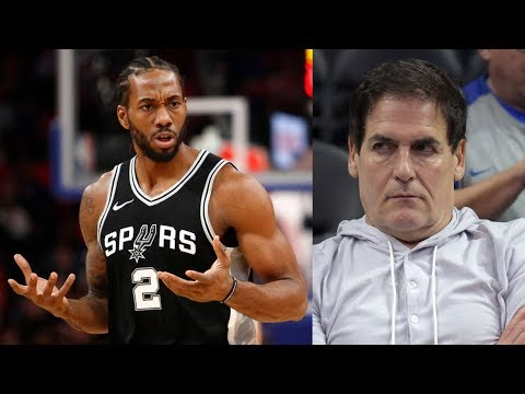 Mark Cuban Fined $600K! Kawhi Out for Season? 2017-18 Season