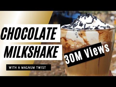 Chocolate Rocket   Chocolate Milkshake   Magnum Ice Cream   Make a Drink for Yourself   Recipe Video