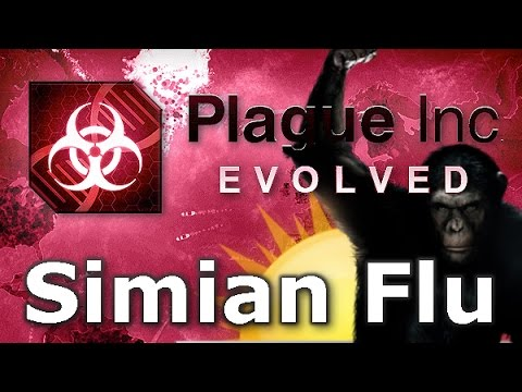 Plague Inc. Evolved - Simian Flu Walkthrough (Mega Brutal)