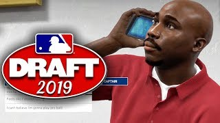 Preparing For THE DRAFT! MLB The Show 19 Road To The Show Gameplay Ep. 1