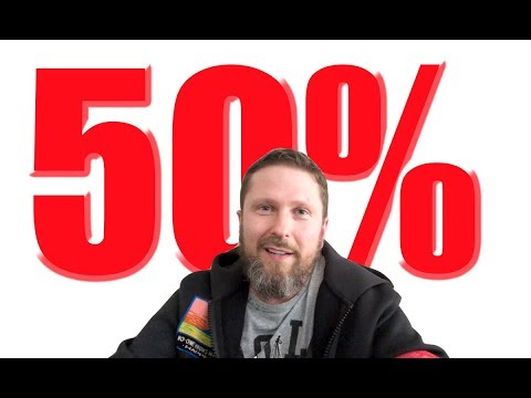 Oтpыв 50%. Maлoвaтo