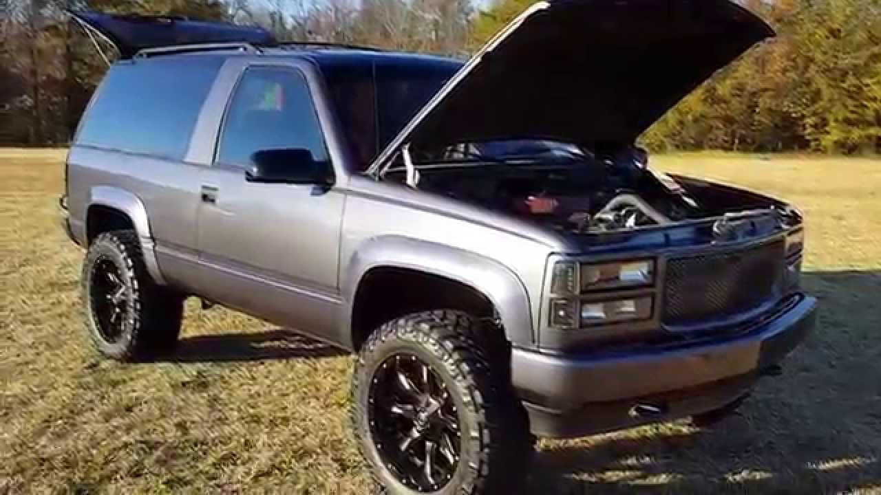 1993 GMC Yukon For Sale - YouTube