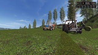 Farming Simulator 17 De Terra Italica  Timelapse #1 Bailing Grass