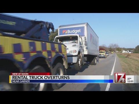Ten Ten Road reopens after vehicle flips