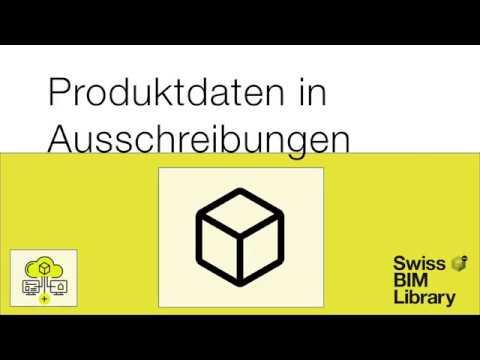 SwissBIMLibrary by buildup: Vernetzung Ausschreibung