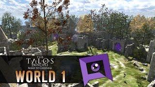 The Talos Principle: Road to Gehenna DLC - Part 1: Awakening & World 1