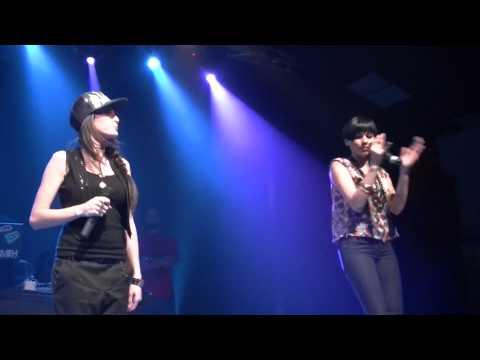 "NINA SKY & KENZA FARAH - ""CELLE QU'IL TE FAUT"" (LIVE @ PALACE, MARSEILLE - 22/05/10)"
