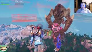 A Glitch Ruined Mech VS Monster Event - Fortnite