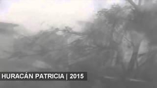 Toca tierra el huracán Patricia en México   MOMENTO EXACTO • URGENTE 23 10 2015