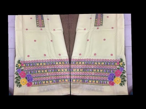 Latest And Beautiful Machine Embroidery Design For Suits