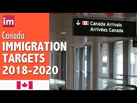Canada Immigration Targets (2018-2020) | Immigration to Canada