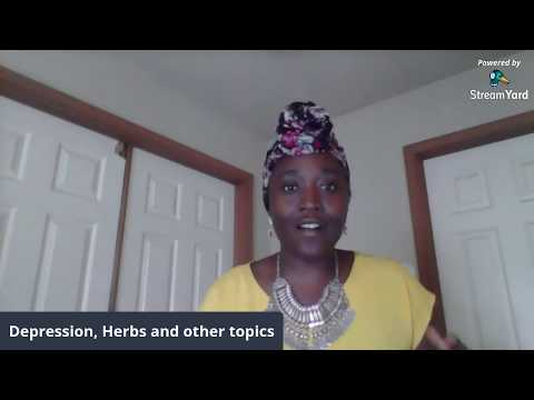 Depression, Herbs and other topics