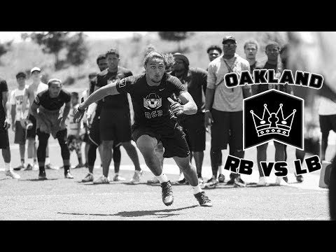 Nike Football's The Opening Oakland 2017 | RB vs LB