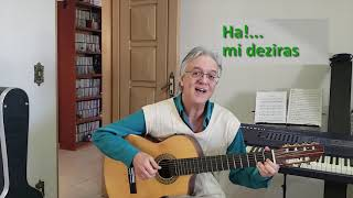 Atendo (Tempo de Espera) - Kim Ribeiro & Regina Celi, com tradução para o esperanto