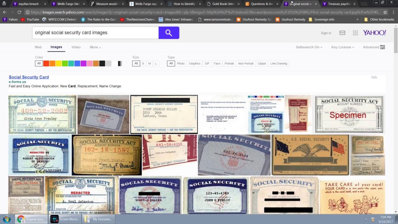 Secret SSN Account Affected by Equifax and Wells Fargo Data Breach?