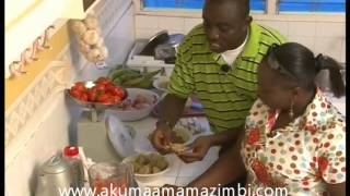 Cooking lessons for Ghanaian ladies with Mama Zimbi