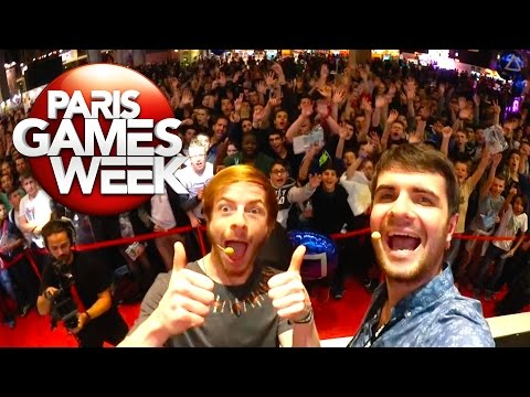 COULISSES DE LA PARIS GAMES WEEK 2015 ! - Amixem