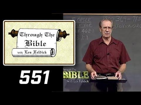 [ 551 ] Les Feldick [ Book 46 - Lesson 3 - Part 3 ] Hebrews 2:3 |a