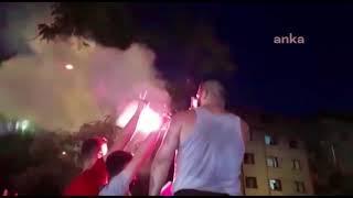 İstanbul'da Ekrem İmamoğlu'nun galibiyet kutlamaları