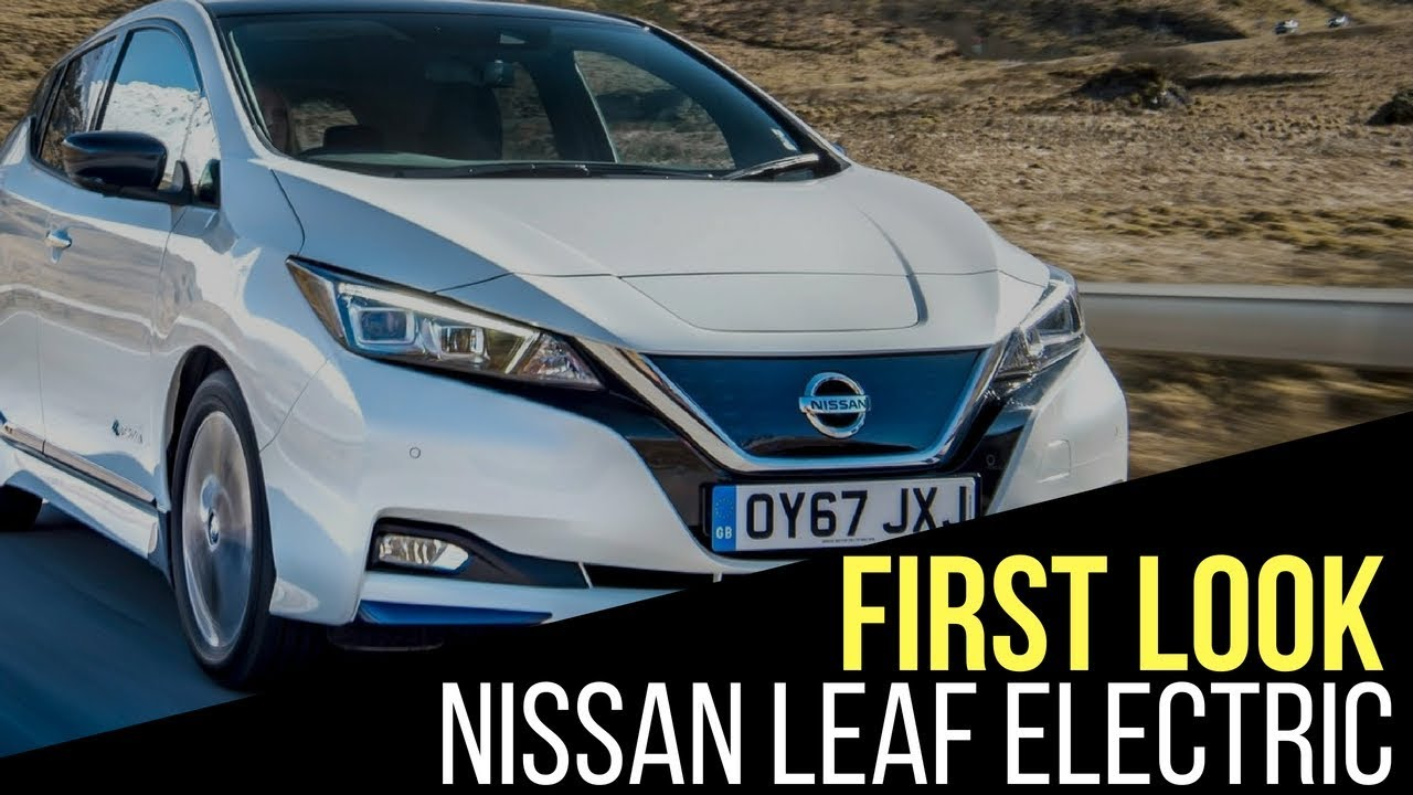 Nissan Leaf Electric Coming To India This Year Youtube