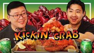 Cajun Spicy SEAFOOD BOIL MUKBANG - Lobster, Crawfish, &amp Shrimp