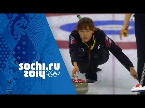 Curling - Women's Round Robin - Korea v USA   Sochi 2014 Winter Olympics