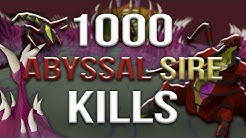 Loot From 1,000 Abyssal Sire