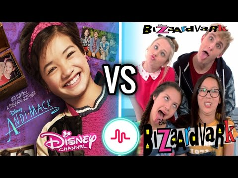 Andi Mack VS Bizaardvark Musical.ly Battle | New Disney Channel Stars Musically