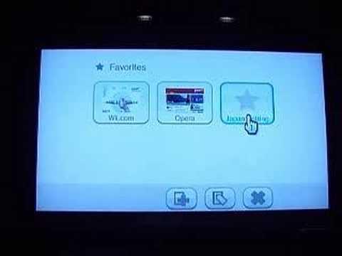 Nintendo Wii Internet Channel