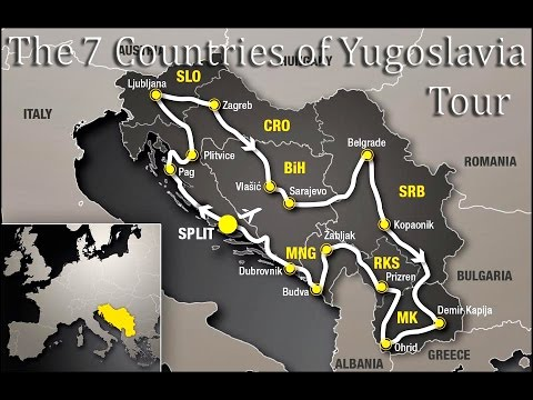 7 Countries of Yugoslavia with Ed Pedi