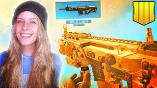 THIS GUN IS SO GOOD. WAT. Gold Rampart Grind! - Road to Diamond Assault Rifles (BO4)