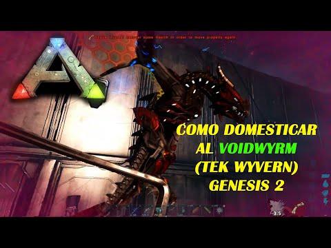ARK Como TAMEAR al VOIDWYRM (tek wyvern) SOLO facil y rapido GENESIS 2