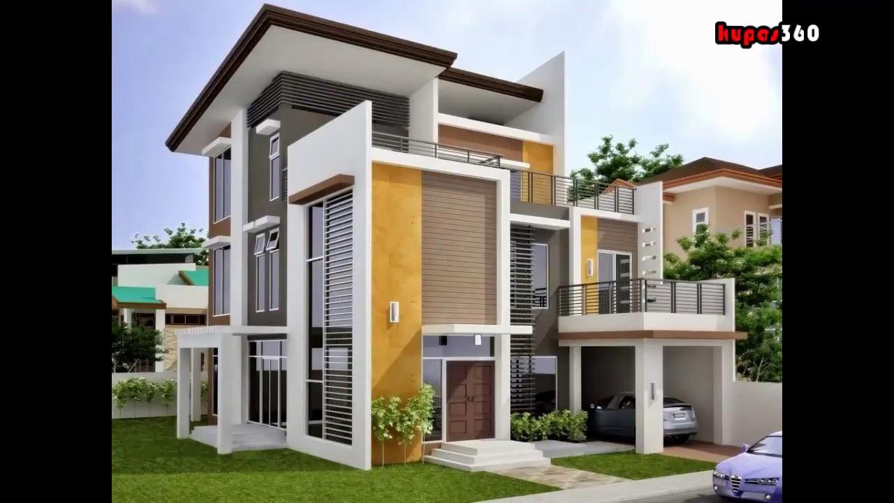 Desain Rumah Modern Minimalis 1 Lantai Dan 2 Lantai Terbaru 2018