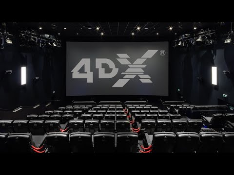 INSIDE THE 4DX SCREENS THEATRE at CES 2020 VEGAS