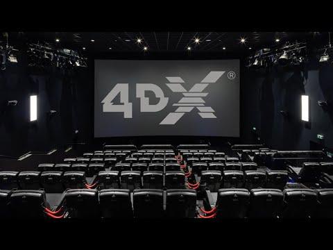4DX Movie Theatre Experience - CES 2021 Vegas