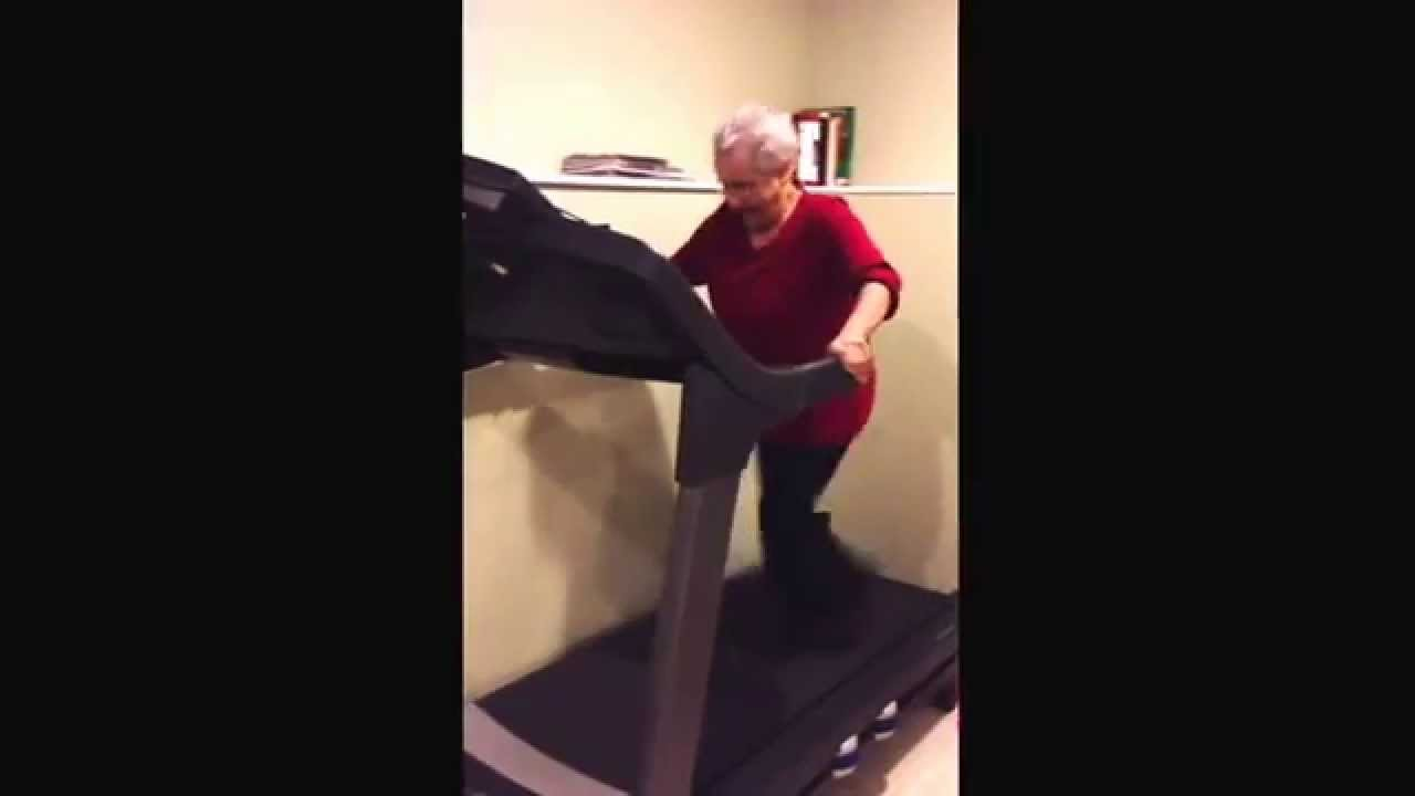 Humping Granny Beautiful workout granny - youtube