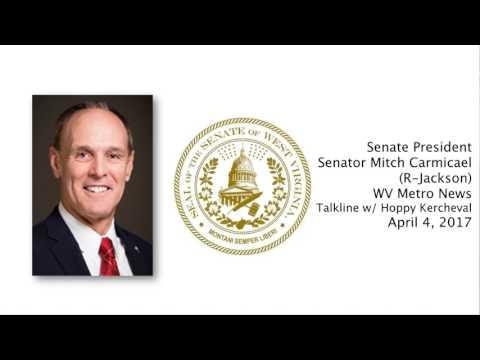 WV Senate - Senate President Mitch Carmichael Presents Senate Budget Proposal