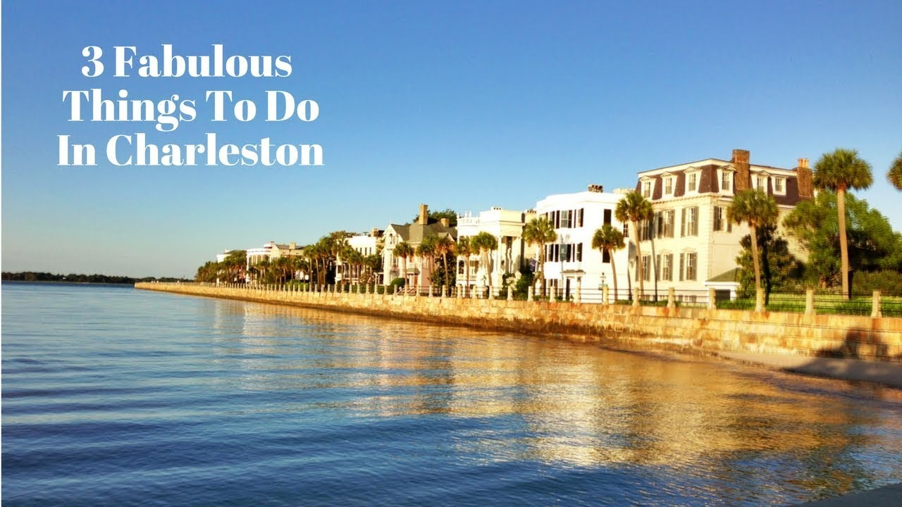 3 fabulous things to do in charleston sc youtube for Things to do in charleston nc