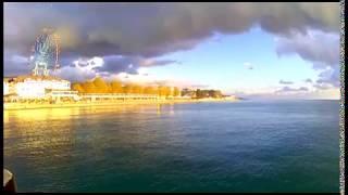 Лазаревское море пляж✦Лазаревское  погода на море