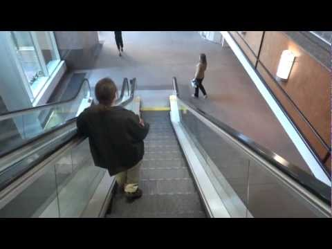 Happy Escalator Monday!  Otis escalators at Two Hannover Square Raleigh NC