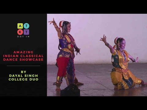 Amazing Indian Classical Dance Showcase by Dayal Singh College Duo | Pulse 2017