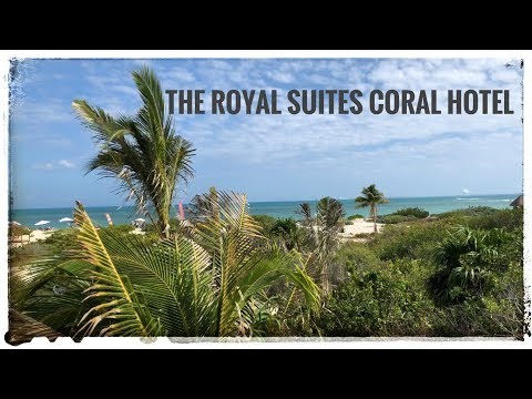 Footage of the new TRS Coral Hotel in Cancun, Mexico - New Year 2019.