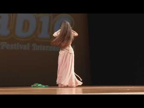 Hiara Oliveira 2 lugar solo juvenil Arabic 2019 CIA Rebeca Sasaki coreografia de Talissa Isis