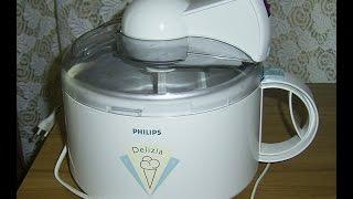 test funktionsprfung philips eismaschine eisbereiter ice cream machine philips hr 2310