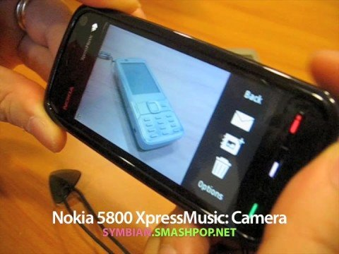 Nokia 5800 XpressMusic: Camera