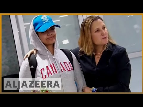 🇸🇦 🇨🇦 'Brave new Canadian': Saudi teen Rahaf Alqunun arrives in Canada l Al Jazeera English