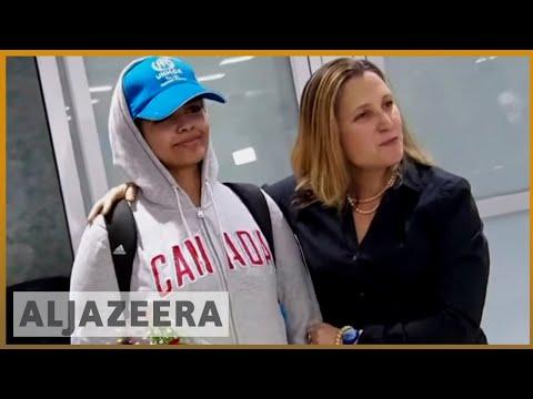 🇸🇦 🇨🇦 'Brave new Canadian': Saudi teen Rahaf Alqunun arrives in Canada l Al Jazeera English