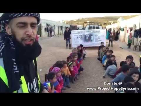 ONE NATION WIDOWS AND ORPHANS CAMP IN SYRIA  - UPDATE Feb 2015