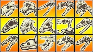 Dino Dig Dag: Archaeology (15 Skeletons) | Eftsei Gaming
