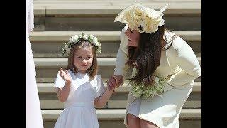 Кейт Миддлтон пришла на свадьбу Меган Маркл и Принца Гарри в старом платье